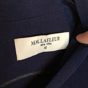 MM Lafleur Dresses - MM Lafleur navy Aditi dress